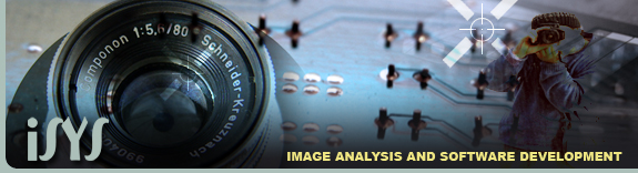 iSYS Image Analysis and Software Development