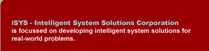 iSYS - Intelligent Systems